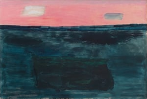 'On the verge of abstraction': Morning Sky, 1962 by Milton Avery.