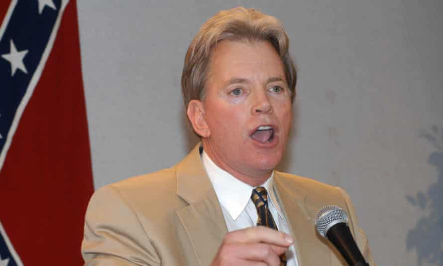David Duke, the former Imperial Wizard of the Ku Klux Klan and a holocaust denier.