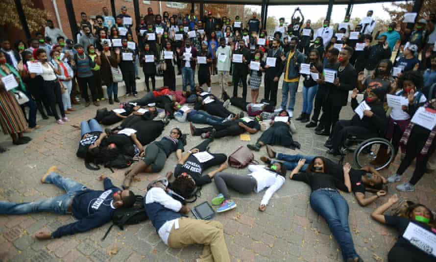 ferguson student protest