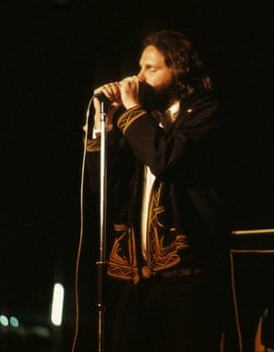 Jim Morrison - dancing in the dark 'The Doors' performance took place after midnight in semi-darkness. To get this photo, Everest had to ask for the lights to be turned up. Within a year, Morrison's drug-fuelled lifestyle had killed him'