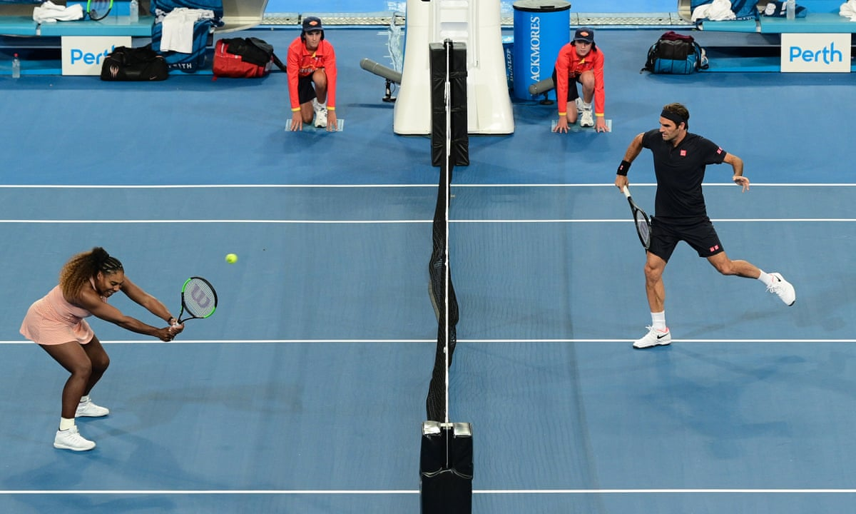 Roger Federer And Serena Williams Meet With Switzerland Winning At Hopman Cup Sport The Guardian