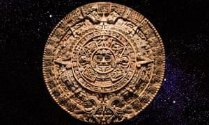 A Mayan calendar.