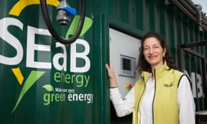 Sandra Sassow, cofounder of SEaB Energy