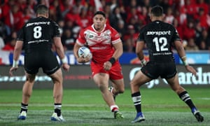 New Zealand beat Tonga in Auckland at the weekend.