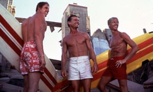 Gary Busey, Jan-Michael Vincent and William Katt in the cult surf hit Big Wednesday
