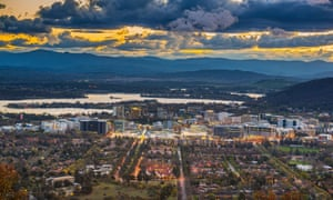 'Ridiculous expanse': Canberra almost a century later.