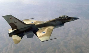 Israeli F-16 jet