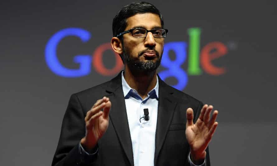 Google CEO Sundar Pichai is scheduled to appear before a House committee.