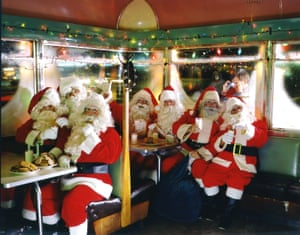 Seven Santa's