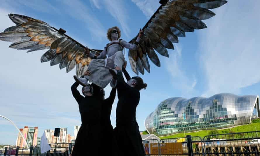 Icarus performed at the opening ceremony of The Great Exhibition of the North in Newcastle.