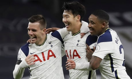 Son and Lo Celso take Tottenham top with win over Manchester City