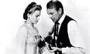 Grace Kelly and Gary Cooper in High Noon, 1952.