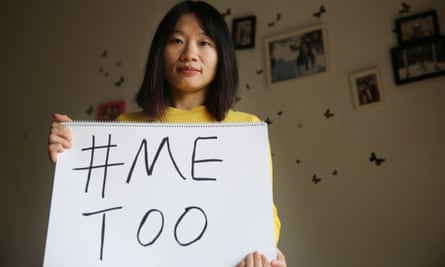 Sophia Huang, a Chinese MeToo activist and journalist who was detained after protests in Hong Kong.