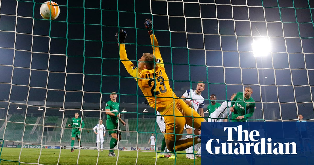 Harry Kane makes it 200 goals in 300 Spurs games during win at Ludogorets