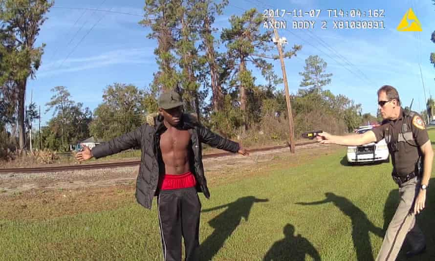 Ahmaud Arbery was stopped by police who attempted to user a Taser on him in 2017.