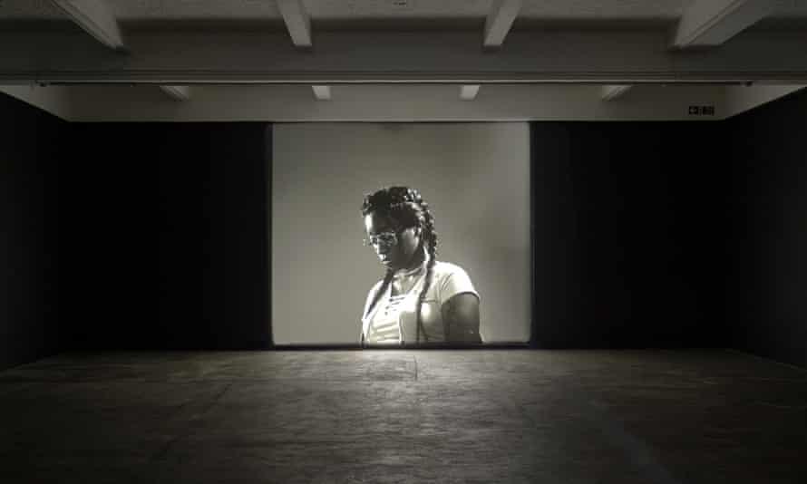 An installation by Luke Willis Thompson at Chisenhale Gallery