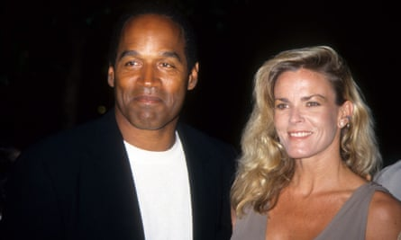 Simpson with Nicole Brown Simpson, in 1994.