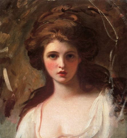 A strange, powerful journey into the aesthetics of another age ... Study of Emma Hart as Circe, around 1782, by George Romney.