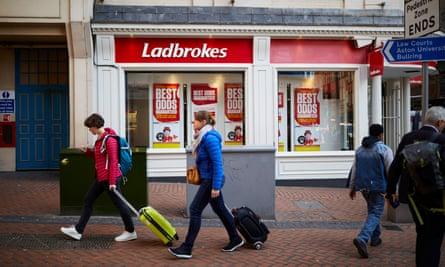 A branch of Ladbrokes in Birmingham