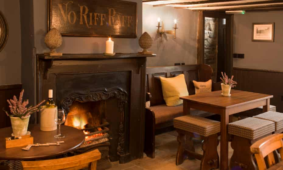 Bar area, the Lord Crewe Arms, Blanchland, Northumberland