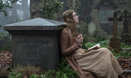 Seeking inspiration … Elle Fanning as the writer in the film Mary Shelley, out in the UK this summer.