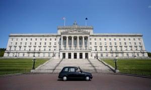 Parliament buildings in Stormont, Belfast.