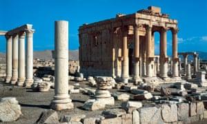 Temple of Baal Shamin