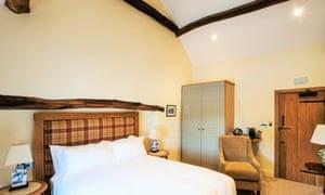 Bedroom at the Fleece Inn, Dolphinholme, Lancaster