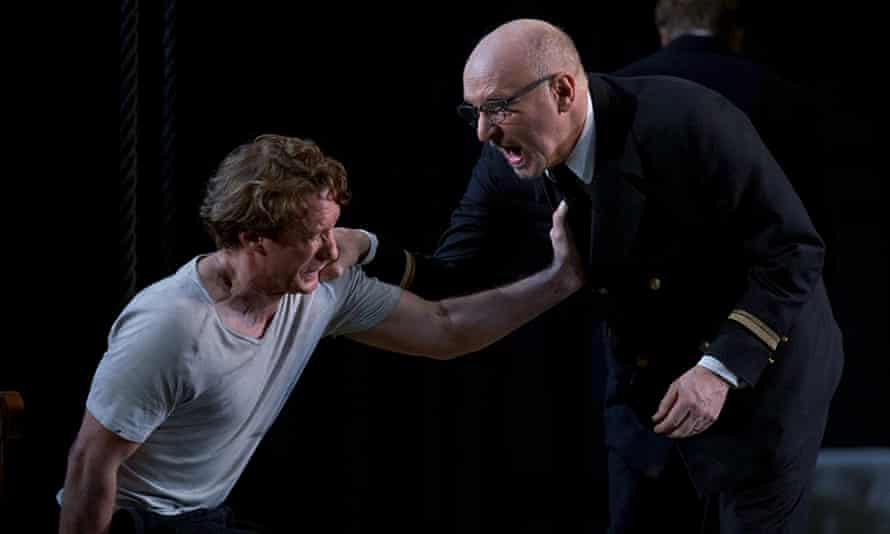 'Singing is a personal thing ... When we get up there we make ourselves very vulnerable.' Brindley Sherratt as Claggart in Billy Budd.