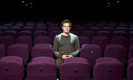 Michael C Hall photographed at King's Cross theatre, London, where he's starring in Lazarus.