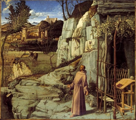 Saint Francis in Ecstasy by Giovanni Bellini.