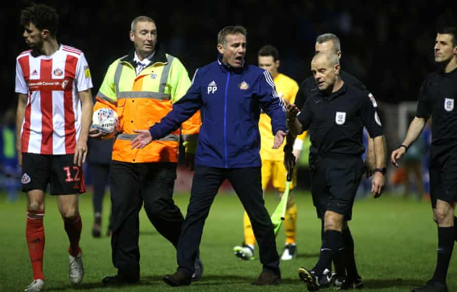 Phil Parkinson, making his feelings known to the referee after a defeat at Gillingham, says: 'This is a critical period for us.'
