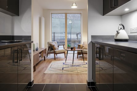 Value uplift … Inside one of the new Bacton homes by Karakusevic Carson Architects.