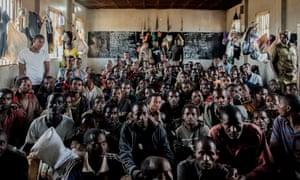 Ethiopian migrants detained in Maula prison