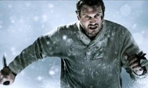 Liam Neeson In The Grey (2012).