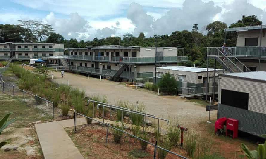 The Australian-run East Lorengau Transit Accommodation for refugees in East Lorengau on Manus Island in Papua New Guinea.