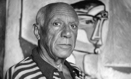 Look into my eyes: Picasso examined the subjects  of his paintings intently over long periods of time.