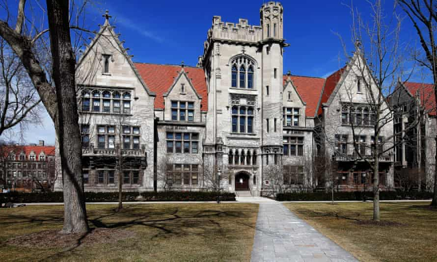 The University of Chicago. Dozens of students recently held a sit-in protest asking the school to defund, disarm, and disband the campus police force by 2022.