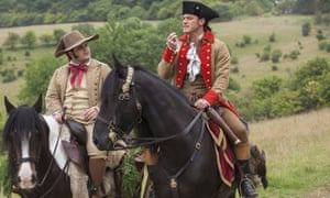 Taking leave of his censors … Josh Gad, left, as LeFou, a character who is 'confused about his sexuality'.