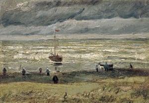 Van Gogh's View of the Sea at Scheveningen.