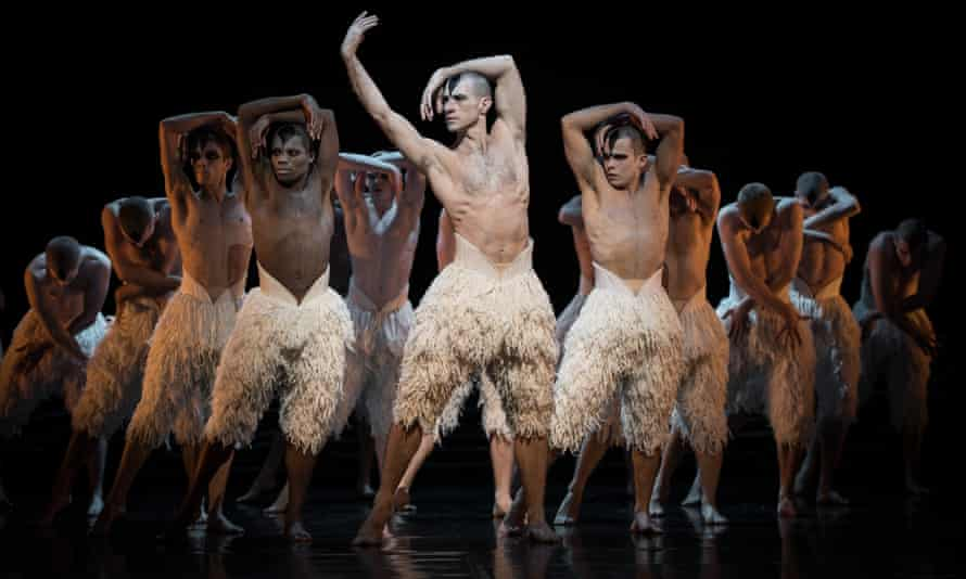 """Matthew Bourne's """"Swan Lake"""" - PhotocallLONDON, ENGLAND - DECEMBER 05: Dancers perform during a photocall for Matthew Bourne's """"Swan Lake"""" at Sadler's Wells Theatre on December 5, 2013 in London, England. (Photo by Ian Gavan/Getty Images)"""