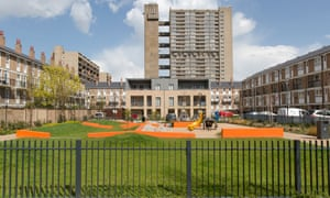 The sale of Balfron provided Harca with money for more social housing and upgrades to public space in the area.