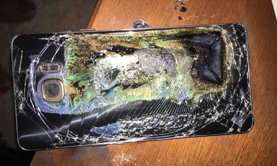 The exploding Samsung Galaxy Note 7
