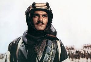 In David Lean's Lawrence Of Arabia, 1962