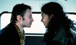 Robert Carlyle and Oyanka Cabezas in Carla's Song