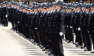 Newly qualified Metropolitan police officers