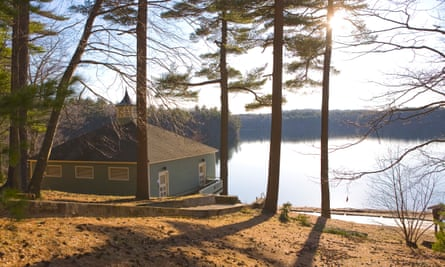 Thoreau's Walden Pond: 'I went to the woods because I wished to live deliberately, to front only the essential facts of life.'