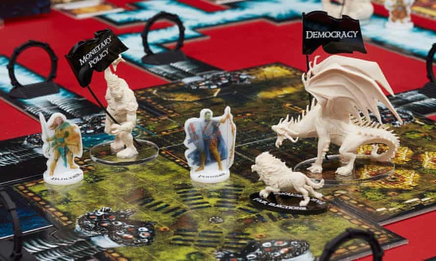 The Founder's Paradox, a board game by artist Simon Denny