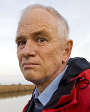 Professor Phil Jones of the University of East Anglia.