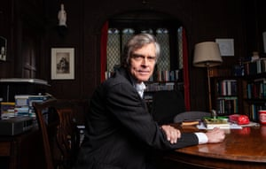 Jeff McMahan, photographed in his office at Chorpus Christi college, Oxford